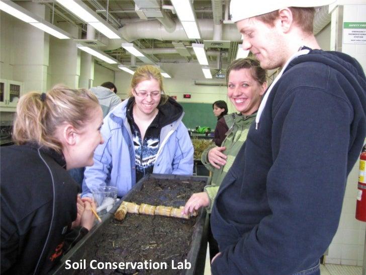 Soil Conservation Lab