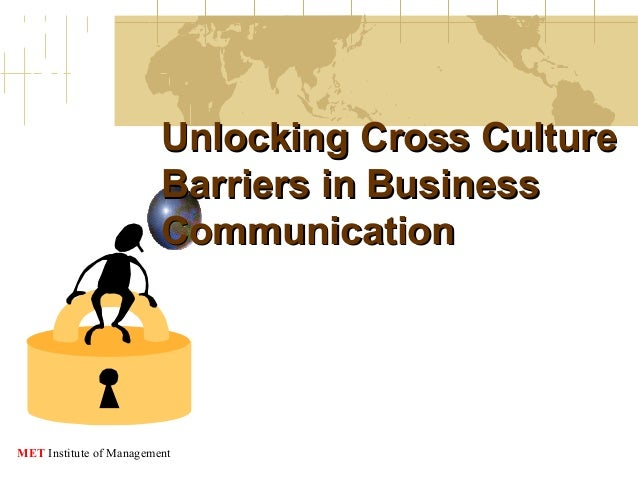 Unlocking Cross Culture Barriers in Business Communication