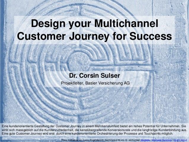 Design your Multichannel  Customer Journey for Success - Dr. Corsin Sulser