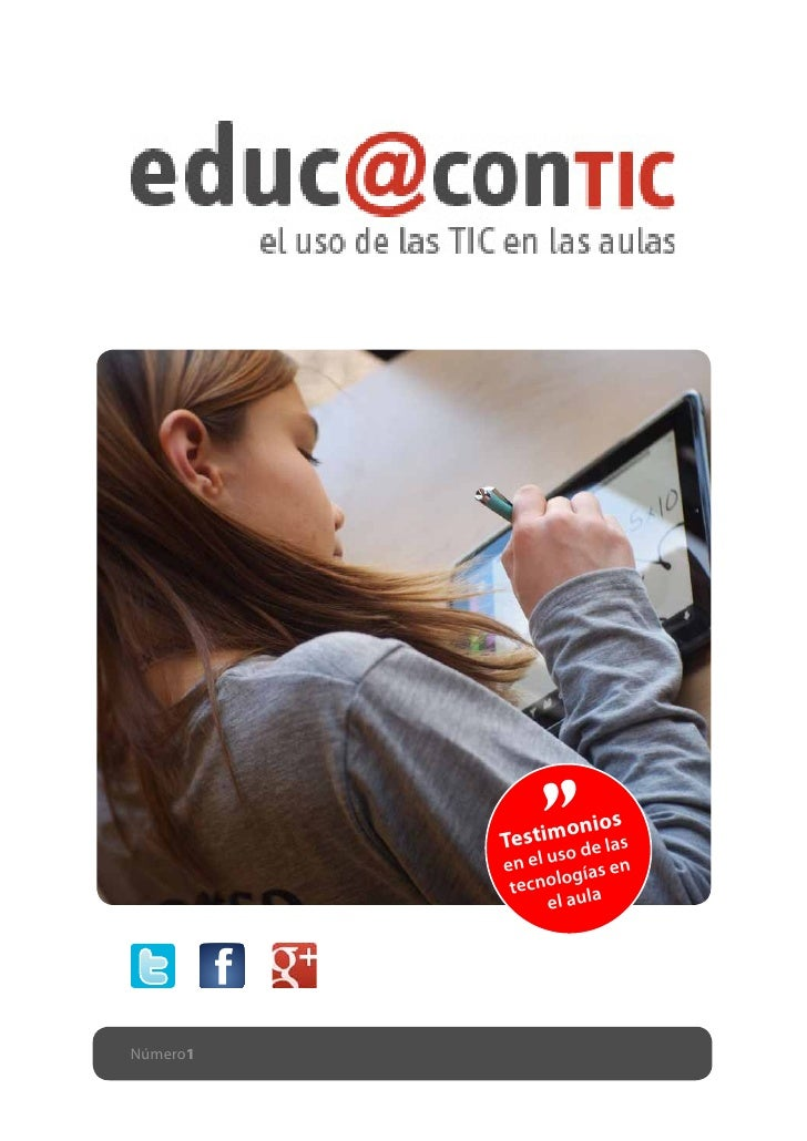 Revista de Educa@contic. Número 1.