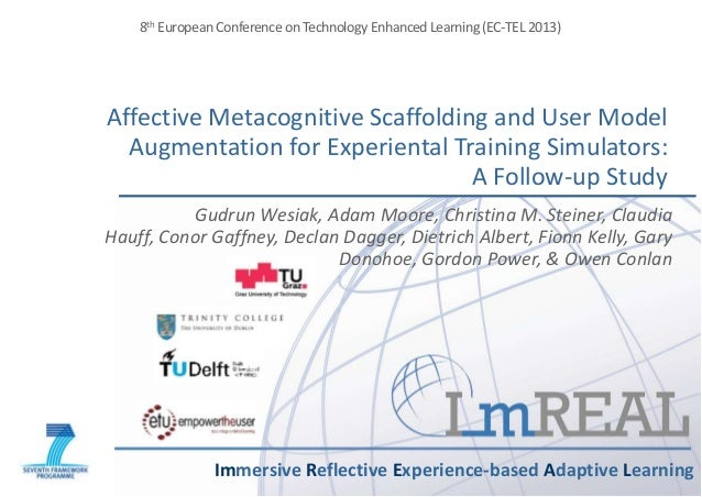 Affective Metacognitive Scaffolding and User Model Augmentation for Experiental Training Simulators: A Follow-up Study Imm...