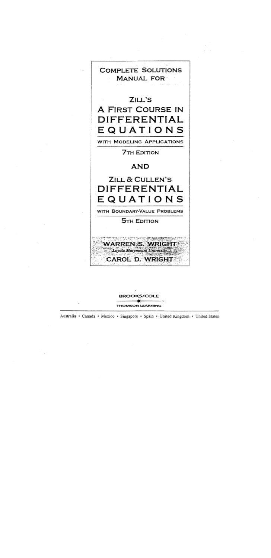 Ecuaciones diferenciales[1].%5 b dennis g. zill%5d.%5b7ed%5d.solucionario