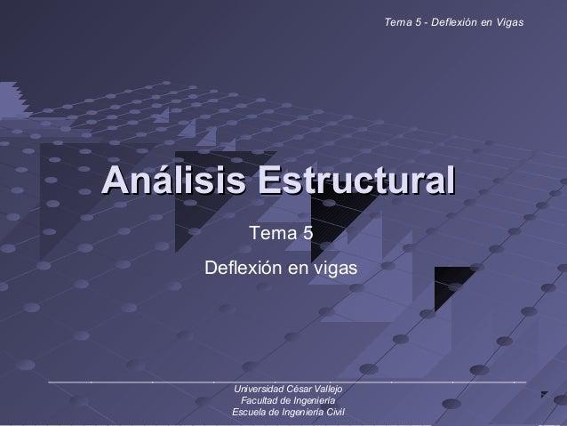Análisis EstructuralAnálisis Estructural ______________________________________________________________________________ Un...