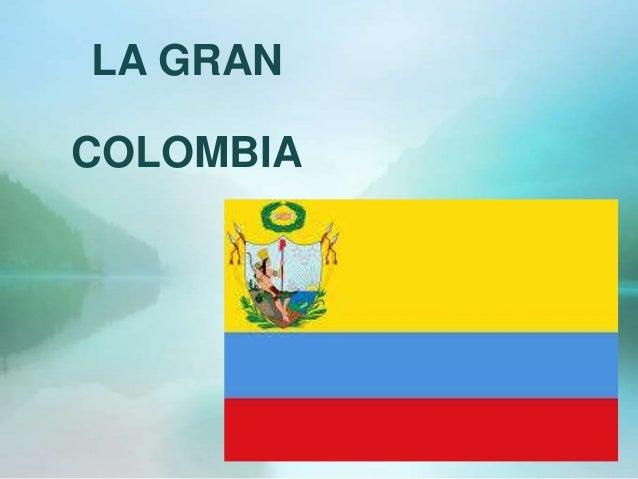 gran colombia en ecuador: