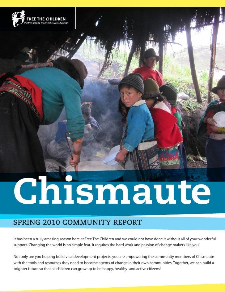Ecuai Community Report Spring 2010
