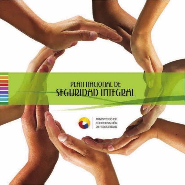 PLAN NACIONAL DE SEGURIDAD INTEGRAL