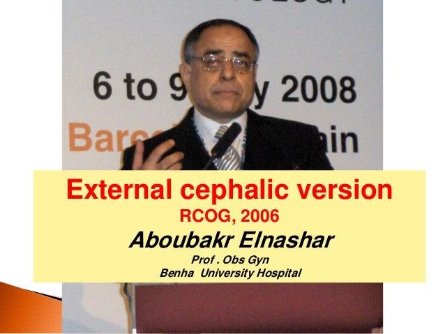Ecv rcog2006