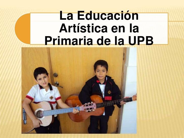 Ed. artística upb