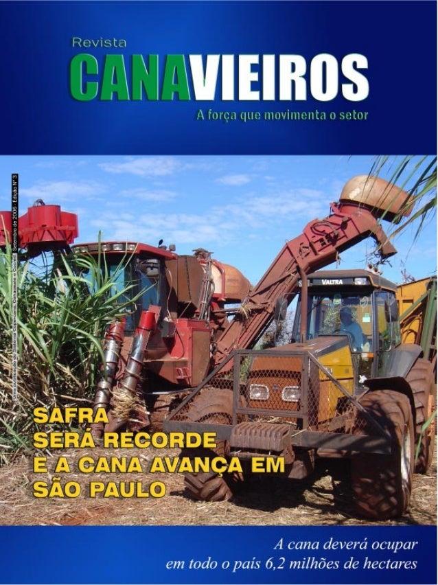 Editorial  Liderança absoluta na produção de cana, açúcar e álcool.  A  edição deste mês apresenta aos leitores uma report...