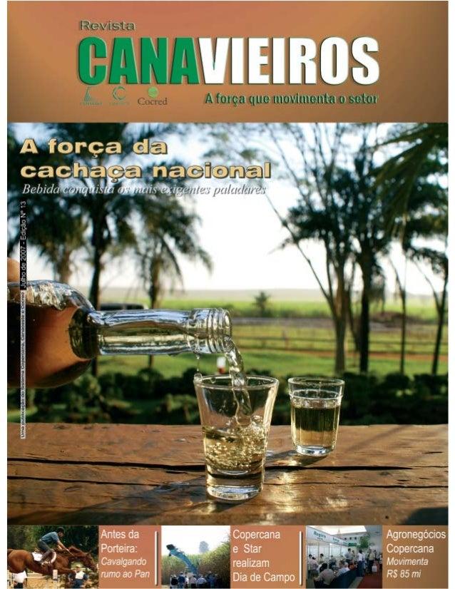 Revista Canavieiros - Julho de 2007