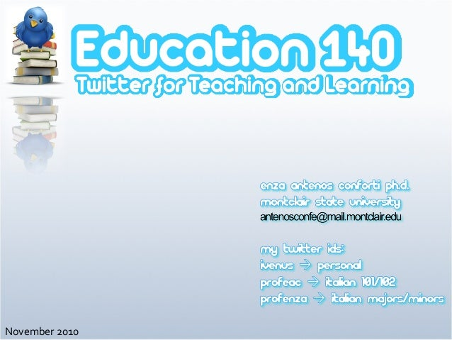 Ed140: Twitter for Teaching and Learning