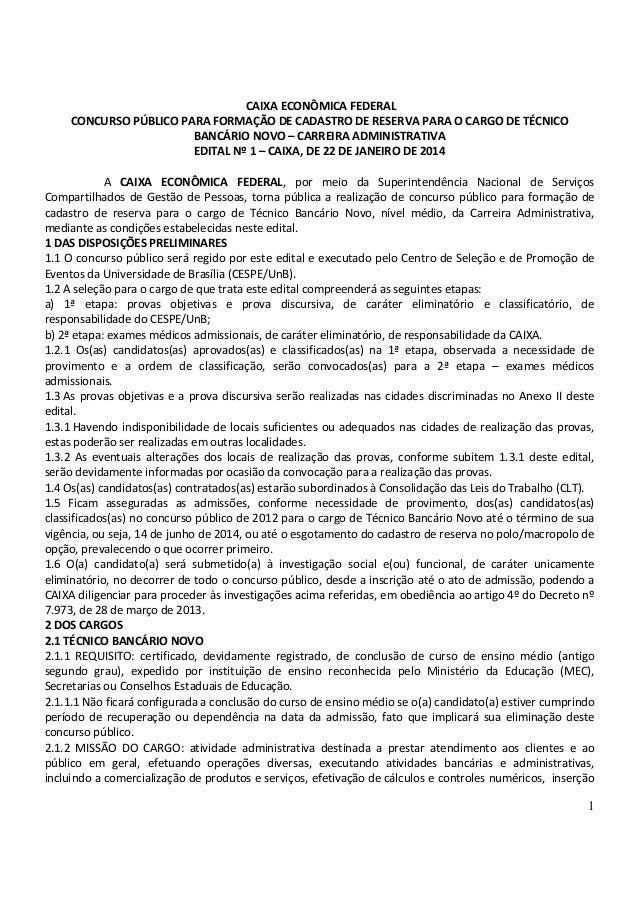 Ed 1 caixa_2014_nm___edital_de_abertura_