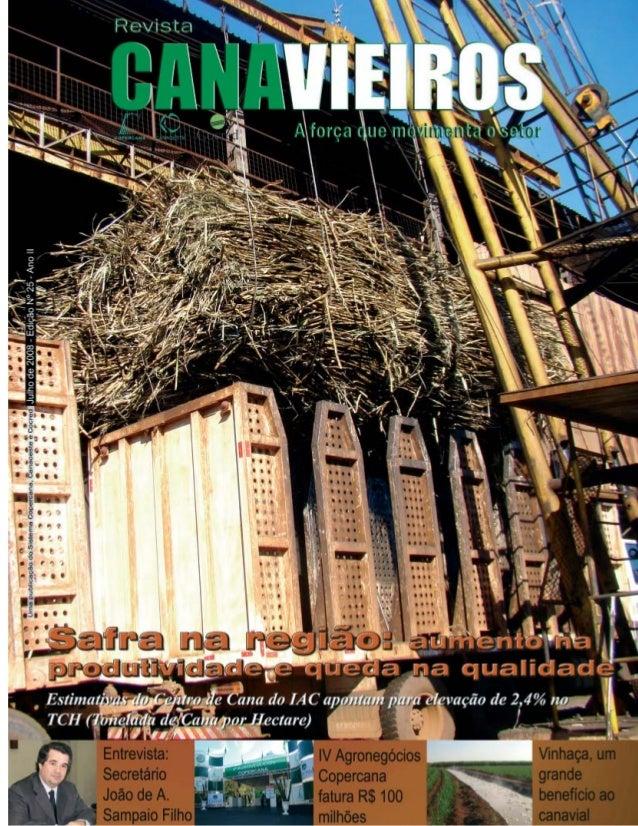 Revista Canavieiros - Julho de 2008  1