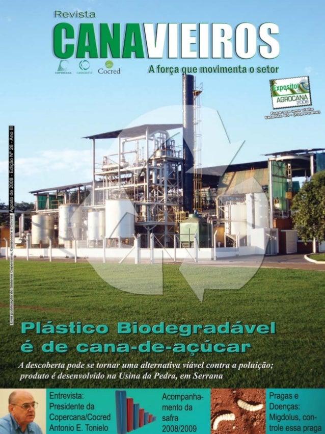 Revista Canavieiros - Agosto de 2008  1