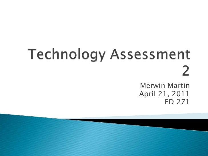 Ed 271 technology assessment 2