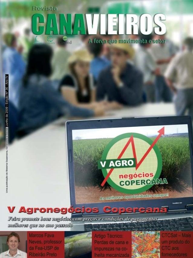 Revista Canavieiros - Junho de 2009  1
