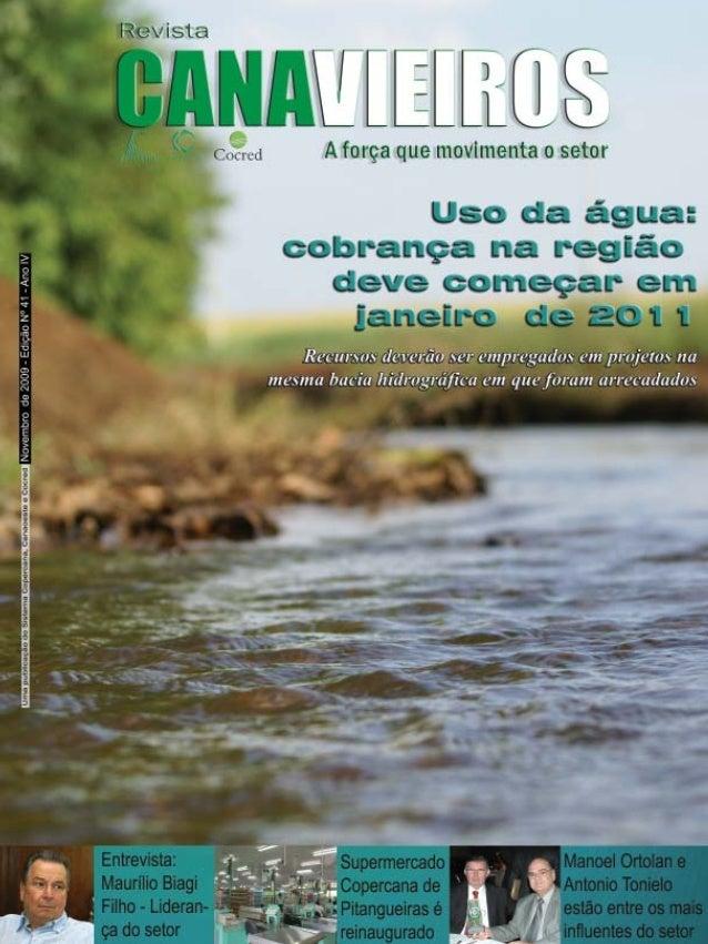 Revista Canavieiros - Novembro de 2009  1