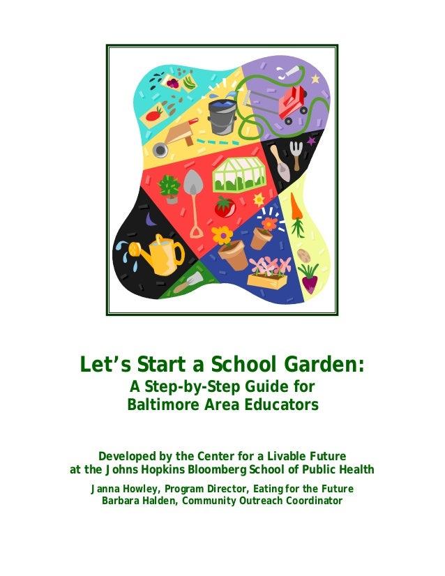 Let's Start a School Garden
