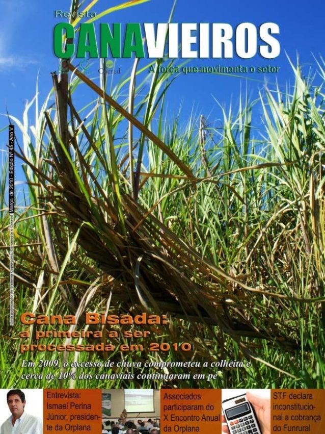 Revista Canavieiros - Março de 2010  1