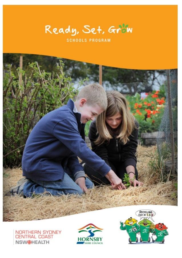 2 Program description / summary School gardens offer a place of rich teaching while providing a unique learning environmen...