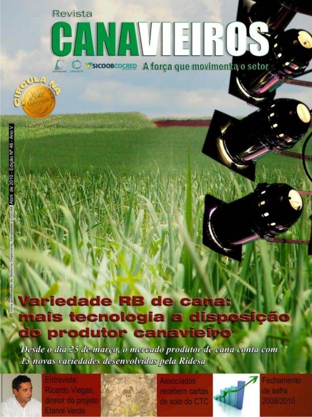Revista Canavieiros - Abril de 2010  1