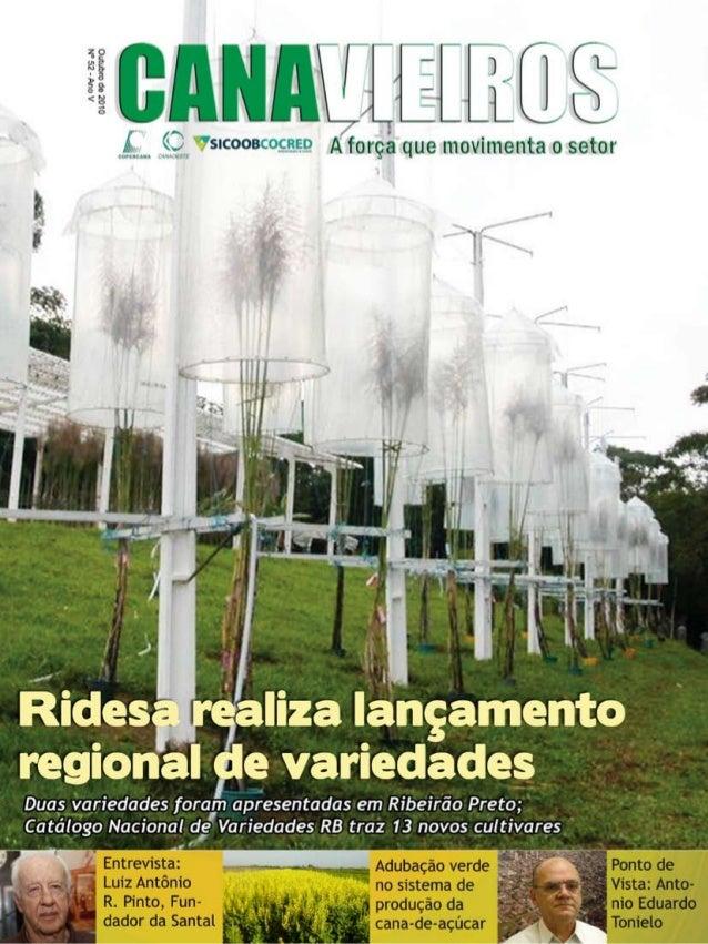 1  Revista Canavieiros - Outubro de 2010