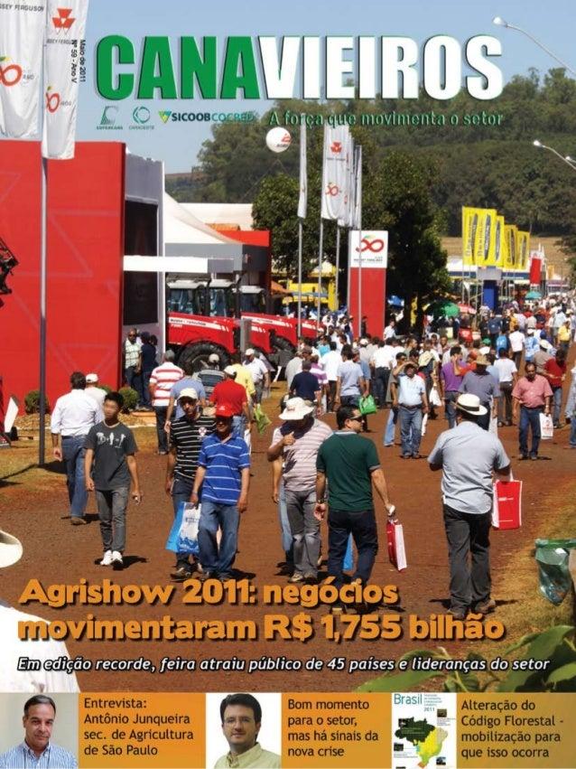 1  Revista Canavieiros - Maio 2011