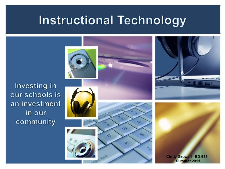 ED 633 Instructional Technology