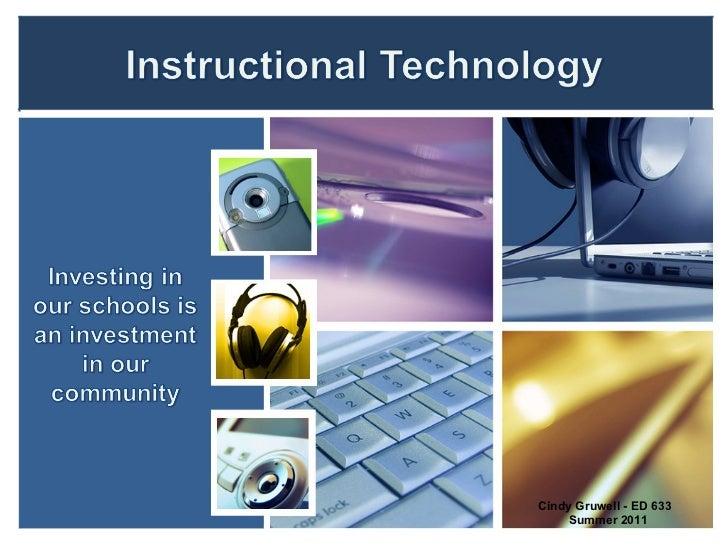 ED 633 Instructional Technology