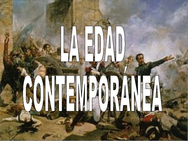 Edad contempor nea for Caracteristicas de la contemporanea
