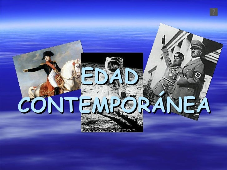 Edad Contemporánea