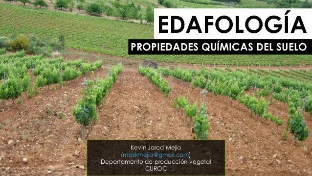 Edafología 4