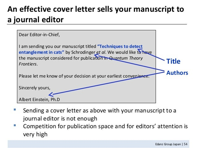 cover letter editing
