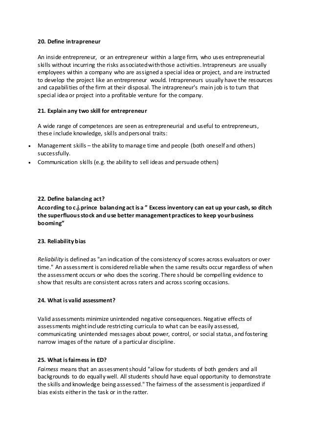 entrepreneur interview essay The tools you need to write a quality essay or term paper saved it must be organized to do the hard work of the entrepreneur and create the entrepreneurial.