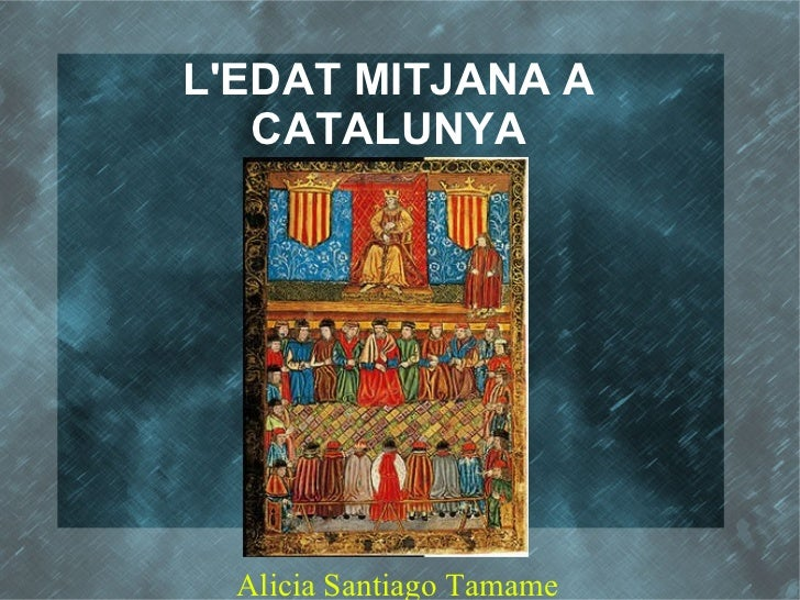 LEDAT MITJANA A   CATALUNYA  Alicia Santiago Tamame