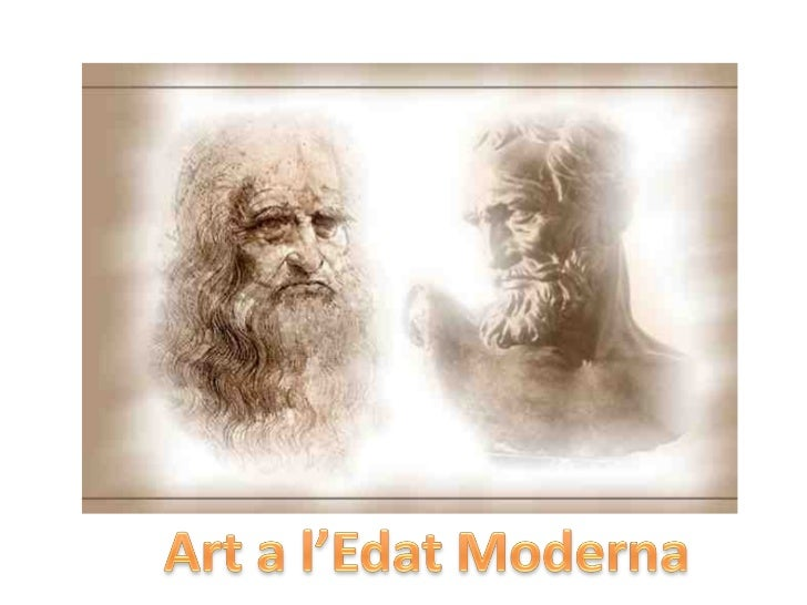 Edat moderna arte