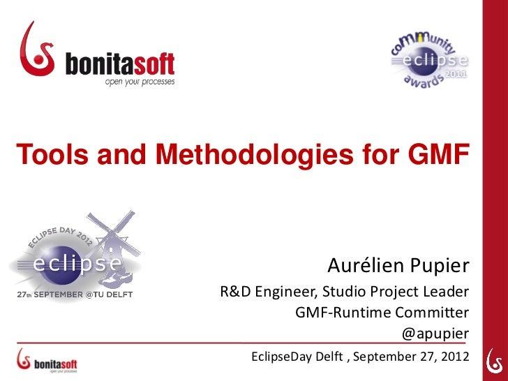 Tools and Methodologies for GMF                             Aurélien Pupier             R&D Engineer, Studio Project Leade...