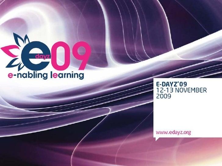 Edayz09 Freebie Presentation