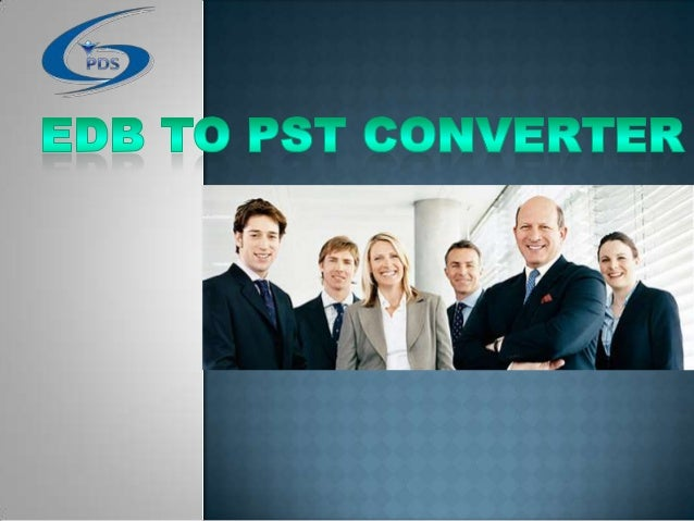 EDB to PST Converter Software Download