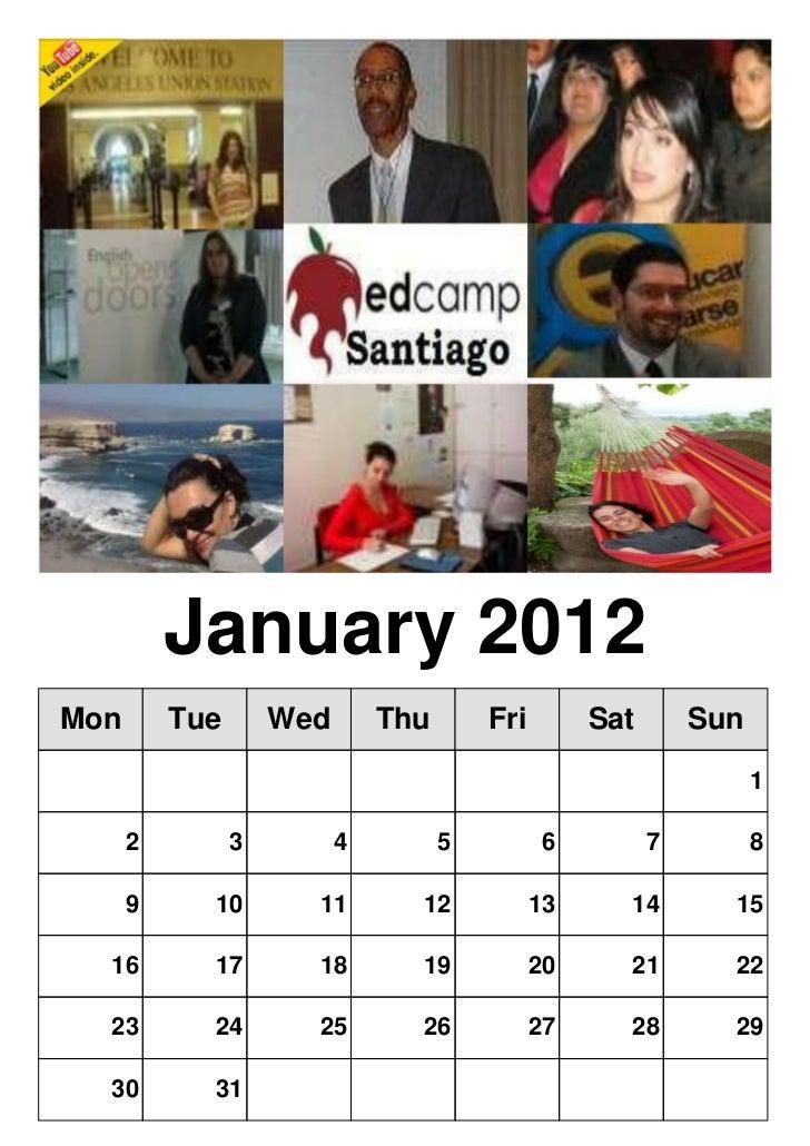 Edcamp Santiago Calendar: January 14, 2012!