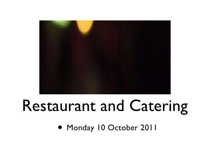 Social media for restaurants