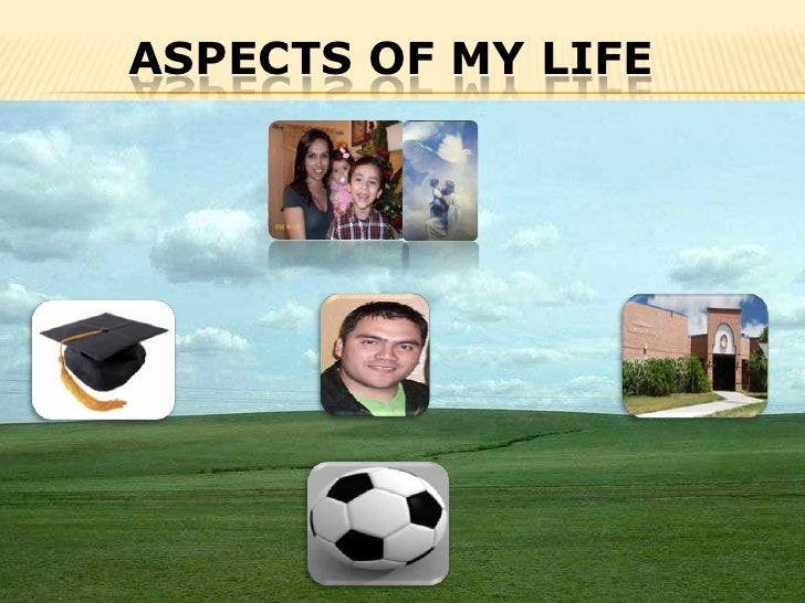 Aspects of my life<br />