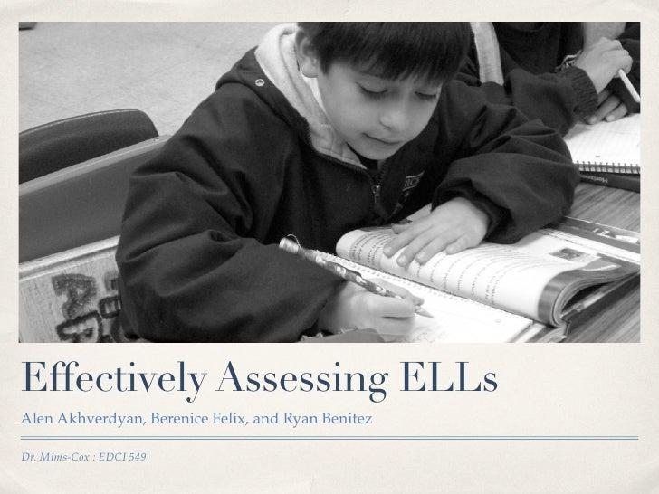 Edci Tuesday Presentation