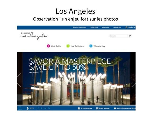 Los AngelesObservation : un enjeu fort sur les photos