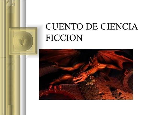 CUENTO DE CIENCIAFICCION