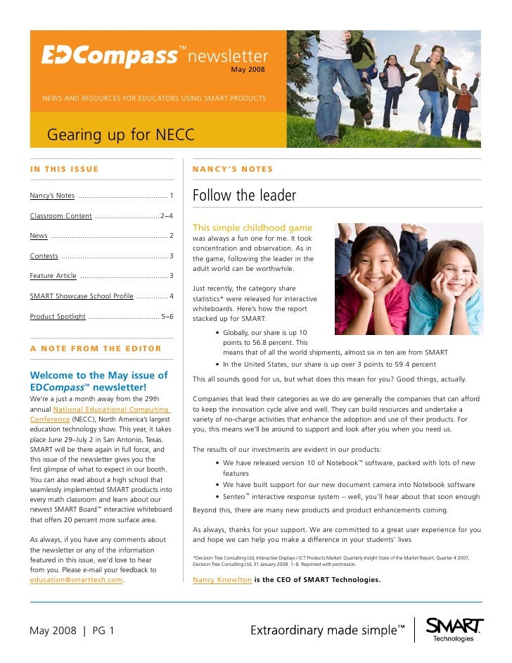 newsletter                                                                                     May 2008        NEWS AND RE...