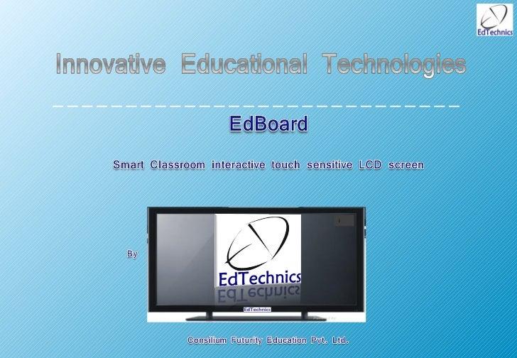 EdTechnics EdBoard for school 2012