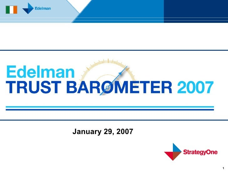 January 29, 2007