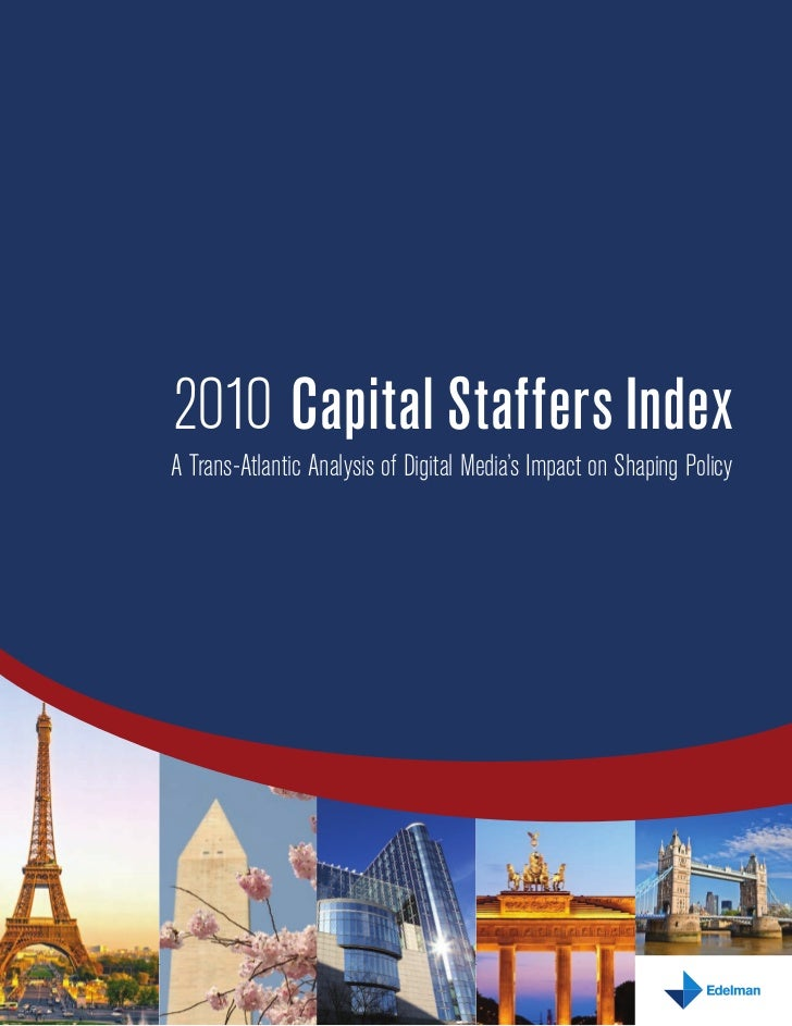Edelman 2010 Capital Staffers Index Whitepaper