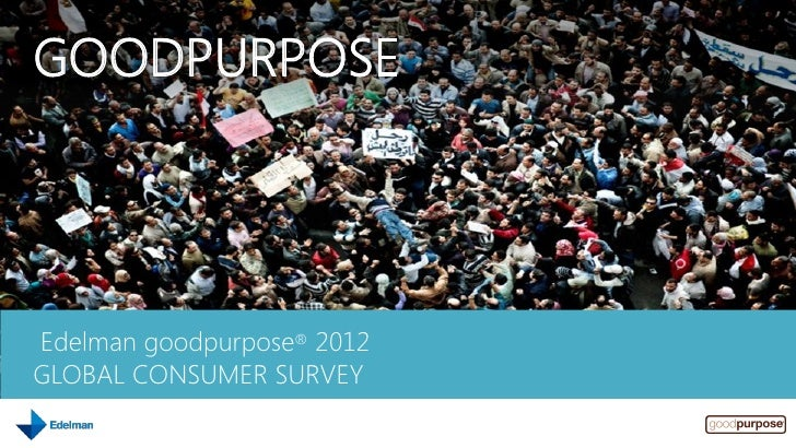 Edelman Good Purpose 2012